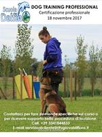 Certificazione di competenze Dog Training Professionional
